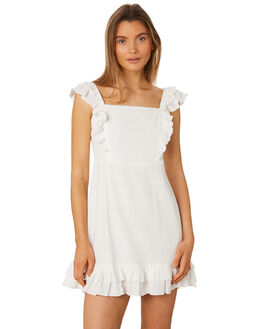 WHITE WOMENS CLOTHING RUE STIIC DRESSES - SA19-18-W1