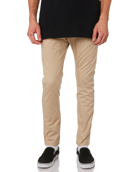 TAN MENS CLOTHING ZANEROBE PANTS - 735-MTGTAN
