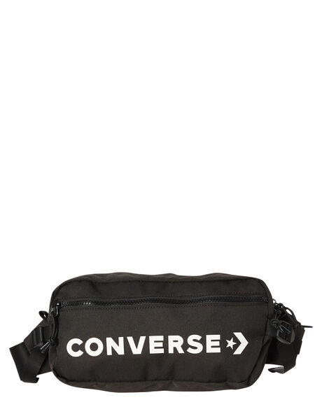 BLACK WHITE MENS ACCESSORIES CONVERSE BAGS - 10006946-001