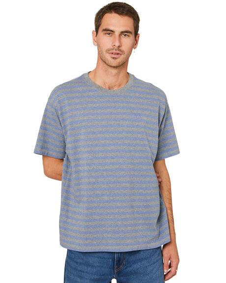 MALLOW ESTATE BLUE MENS CLOTHING LEVI'S TEES - 39856-0006