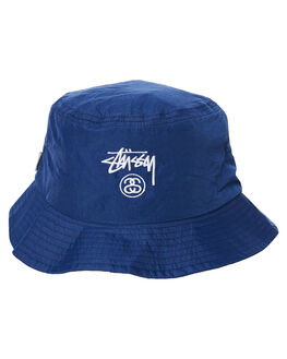 NAVY MENS ACCESSORIES STUSSY HEADWEAR - ST783006NVY