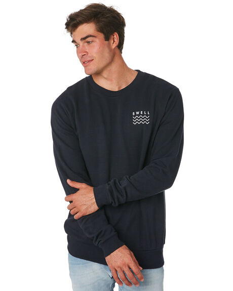NAVY MENS CLOTHING SWELL JUMPERS - S5174442NAVY