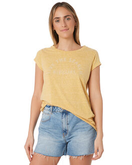 MUSTARD WOMENS CLOTHING RIP CURL TEES - GTEBD21041
