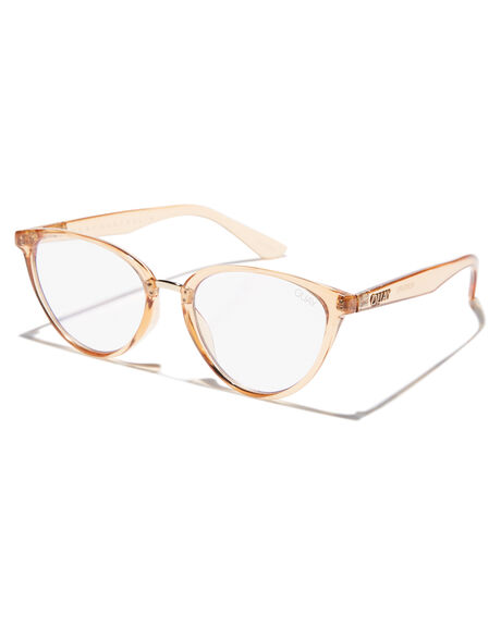 a6f90308df5 Quay Eyewear Rumours Blue Light Blocker Glasses - Cham Clear ...