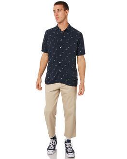 SLATE SEAGULL MENS CLOTHING BARNEY COOLS SHIRTS - 305-CR3SSGL