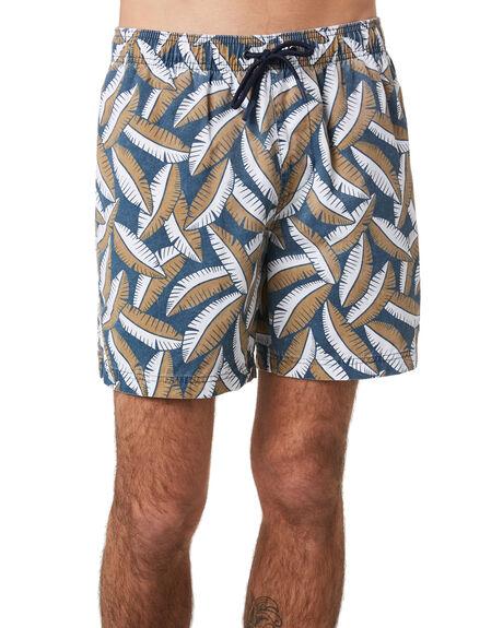NAVY OAT MENS CLOTHING ACADEMY BRAND BOARDSHORTS - 20S704NVOA