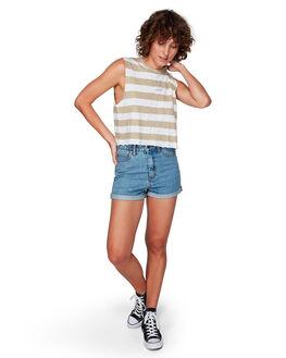 LIGHT STONE WOMENS CLOTHING RVCA SHORTS - R283311LSTO