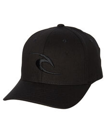 9672ef493bc Rip Curl Tepan Curve Peak Fitted Cap - Black