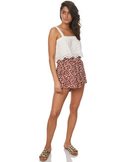 PRINT WOMENS CLOTHING ZULU AND ZEPHYR SHORTS - ZZ1654PRINT