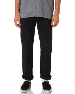 BLACK MENS CLOTHING VOLCOM PANTS - A1111950BLK