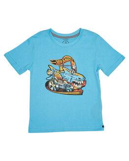LIGHT BLUE KIDS TODDLER BOYS VOLCOM TOPS - Y50418S1LBL