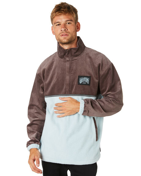 DUSTY BLUE MENS CLOTHING BILLABONG JACKETS - 9595634DSTBL