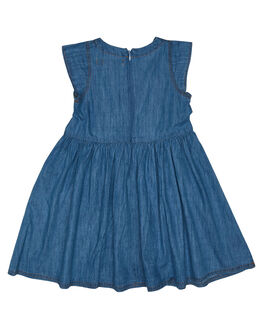 BLUE CHAMBRAY KIDS GIRLS RIDERS BY LEE DRESSES + PLAYSUITS - R-80102K-KA5