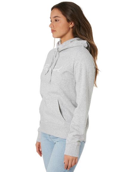 LIGHT HEATHER GREY WOMENS CLOTHING RIP CURL HOODIES + SWEATS - GFECO93233