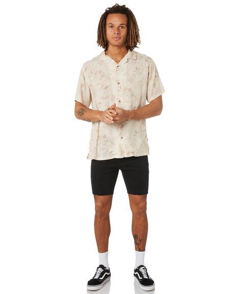 BLACK MENS CLOTHING SWELL SHORTS - S5211242BLACK