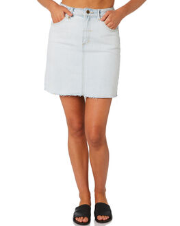 ICE BLUE WOMENS CLOTHING THRILLS SKIRTS - WTDP-322IEICEB