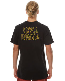 BLACK MENS CLOTHING SWELL TEES - S5174021BLK