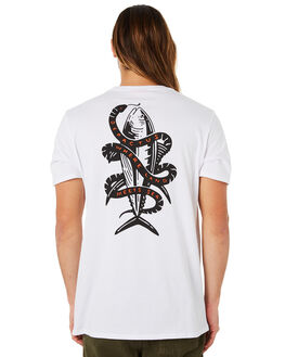 WHITE MENS CLOTHING DEPACTUS TEES - D5184008WHITE
