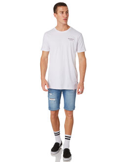WHITE MENS CLOTHING SILENT THEORY TEES - 4022123WHT