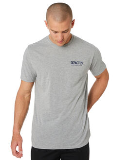 GREY MARLE MENS CLOTHING DEPACTUS TEES - D5193011GRYMA