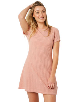 DUSTY PINK WOMENS CLOTHING MINKPINK DRESSES - MP1802051PNK