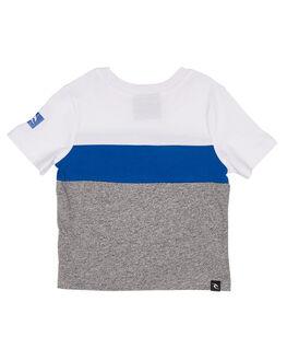 WHITE BLUE KIDS TODDLER BOYS RIP CURL TOPS - OTELQ21638