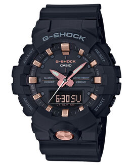 BLACK ROSE GOLD MENS ACCESSORIES G SHOCK WATCHES - GA810B-1A4BLKRG