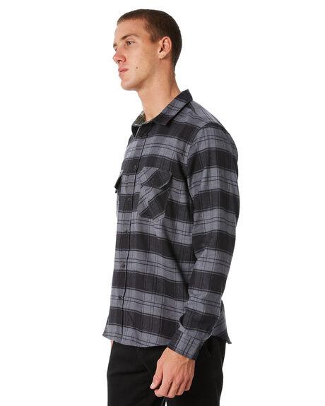BLACK MENS CLOTHING HURLEY SHIRTS - MVS000399000A