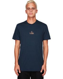 ECLIPSE NAVY MENS CLOTHING ELEMENT TEES - EL-194016-ENH