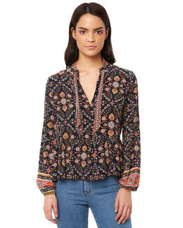 INDIGO WOMENS CLOTHING TIGERLILY FASHION TOPS - T381034IND