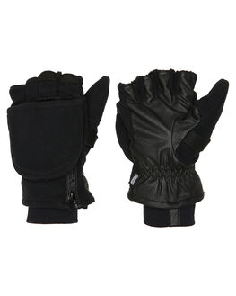 BLACK BOARDSPORTS SNOW POW GLOVES - TRM-A-S-NA-BKBLK
