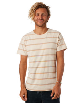 ALMOND OUTLET MENS THE CRITICAL SLIDE SOCIETY TEES - TE1881ALMND