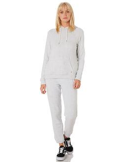 LIGHT GREY WOMENS CLOTHING VOLCOM JUMPERS - B3111801LGR