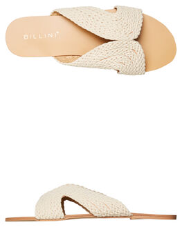NATURAL WOVEN WOMENS FOOTWEAR BILLINI FLATS - S598NATWV