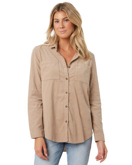 LIGHT FENNEL WOMENS CLOTHING RUSTY FASHION TOPS - WSL0637LFN