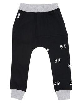BLACK KIDS TODDLER BOYS TINY TRIBE PANTS - TTW18-3006BBLK