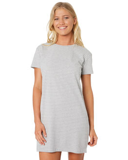 GREY MARLE STRIPE OUTLET WOMENS SWELL DRESSES - S8188441GYMAS
