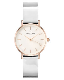 WHITE ROSE GOLD WOMENS ACCESSORIES ROSEFIELD WATCHES - SHMWR-H35WHMRS