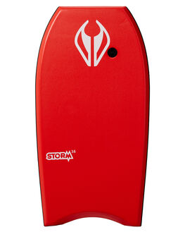 RED WHITE BOARDSPORTS SURF NMD BODYBOARDS BOARDS - N19STORM38RERWHI