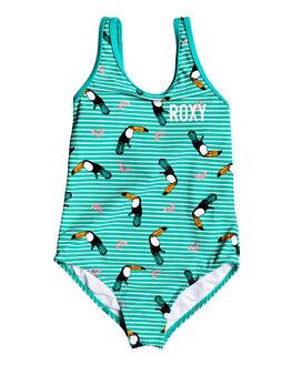 BRIGHT WHITE S BIRDS KIDS GIRLS ROXY SWIMWEAR - ERLX103044-WBB7