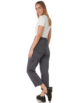 WASTED BLACK WOMENS CLOTHING THRILLS JEANS - WTDP-425WBWASB
