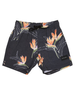 BLACK KIDS BOYS RIP CURL BOARDSHORTS - OBOUU10090