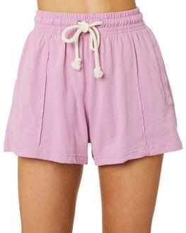 PURPLE PEONIE WOMENS CLOTHING BONDS SHORTS - CVJQI-XRL