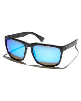 MATTE BLACK BLUE MENS ACCESSORIES ELECTRIC SUNGLASSES - EE11201062MTBLK