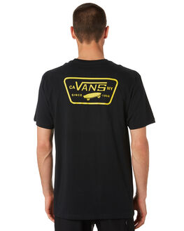BLACK SULPHUR MENS CLOTHING VANS TEES - VNA3H5K8YYBLK