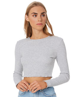 GREY MARLE WOMENS CLOTHING NUDE LUCY KNITS + CARDIGANS - NU23575GRML