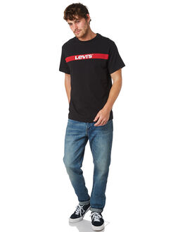 MINERAL BLACK MENS CLOTHING LEVI'S TEES - 69978-0007
