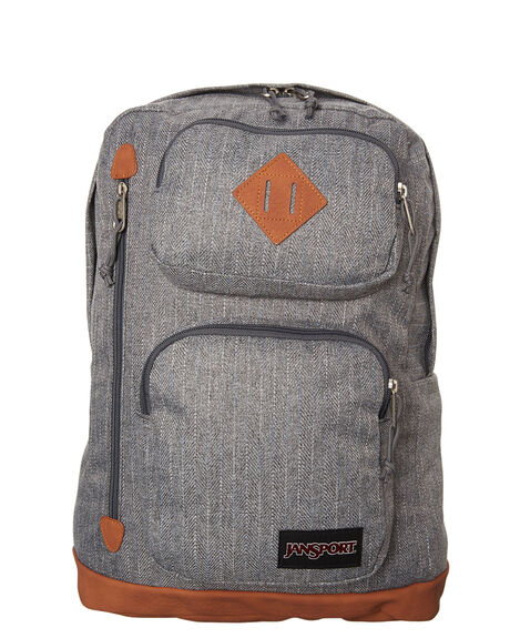 GREY PIXEL MENS ACCESSORIES JANSPORT BAGS - JST13YGRY