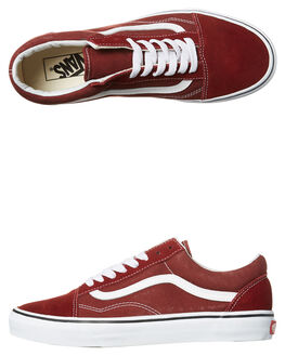MADDER BROWN WHITE MENS FOOTWEAR VANS SNEAKERS - VN-A38G1OVKMAD