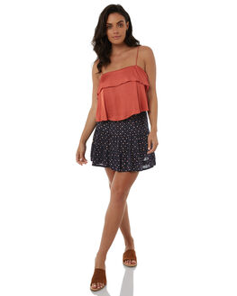 INDIGO WOMENS CLOTHING TIGERLILY SKIRTS - T385276IND